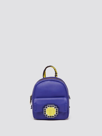 Bluebell backpack with mosaic logo