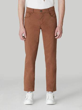 Close 370 trousers in cotton drill