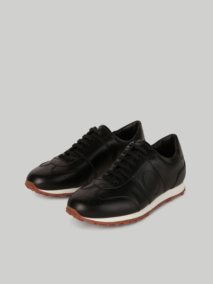 Nuwev plain leather sneakers