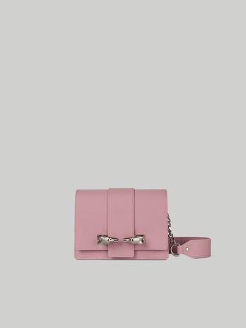 Mini Bag Milano aus Glatt- und Veloursleder