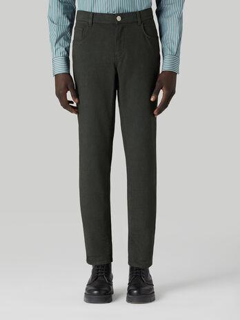 Pantalon 370 Close de gabardina de algodon