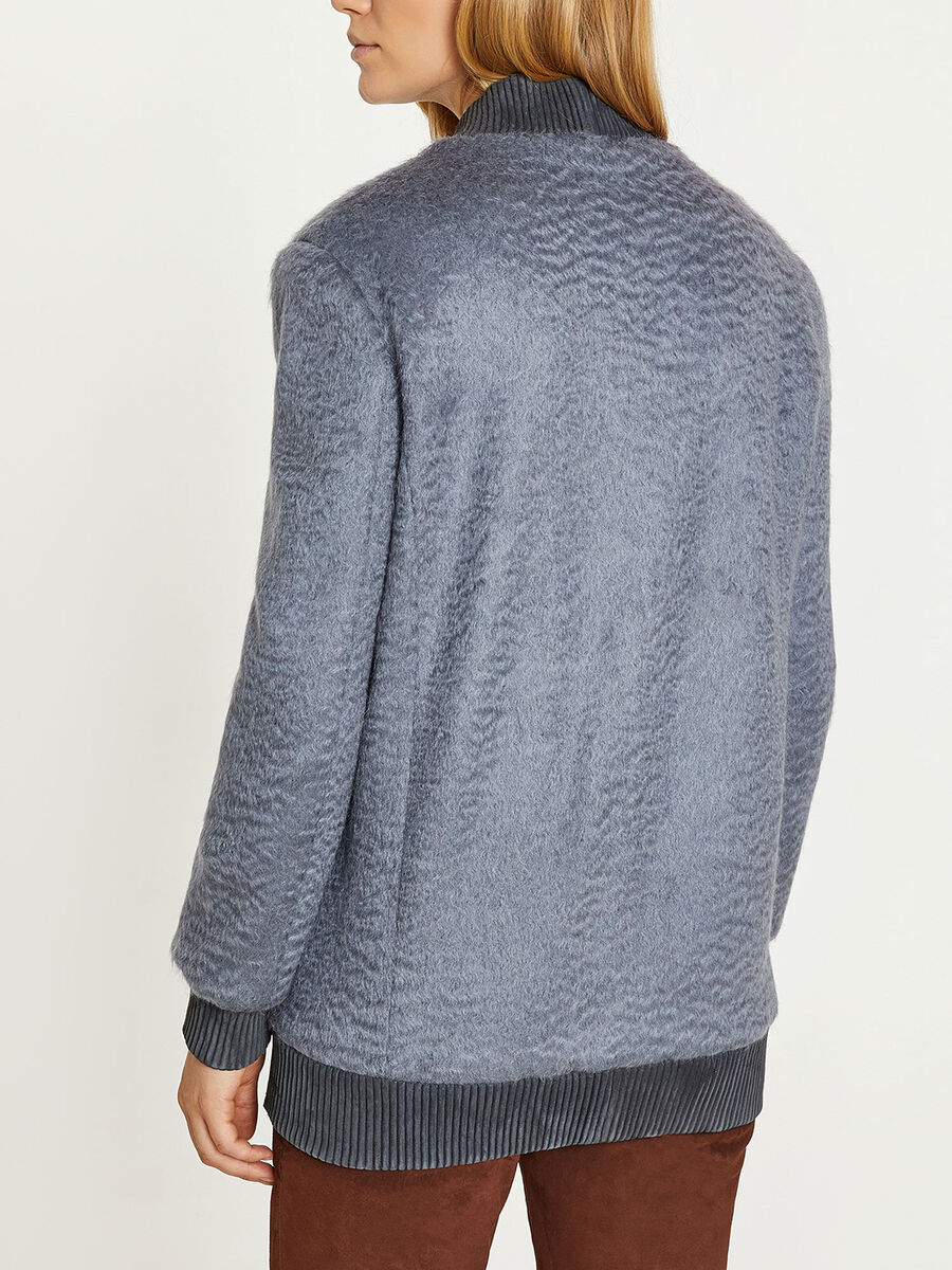 Cappotto in mohair