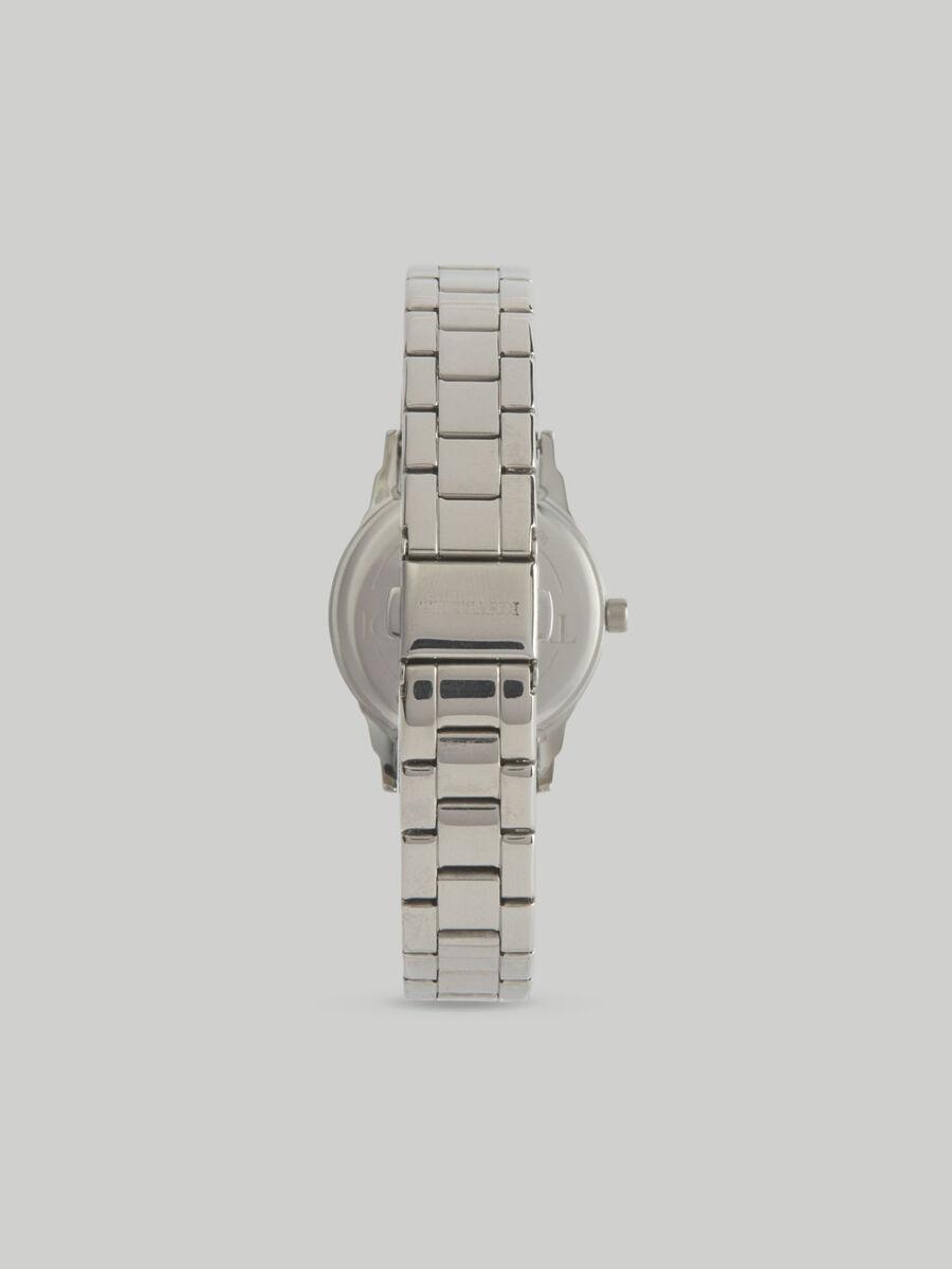 Armbanduhr T-Bent 32MM mit Stahlarmband