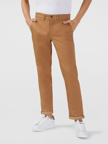 Pantalon coupe saltwater en gabardine stretch