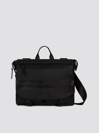 Medium Turati business bag in nylon and Cordura