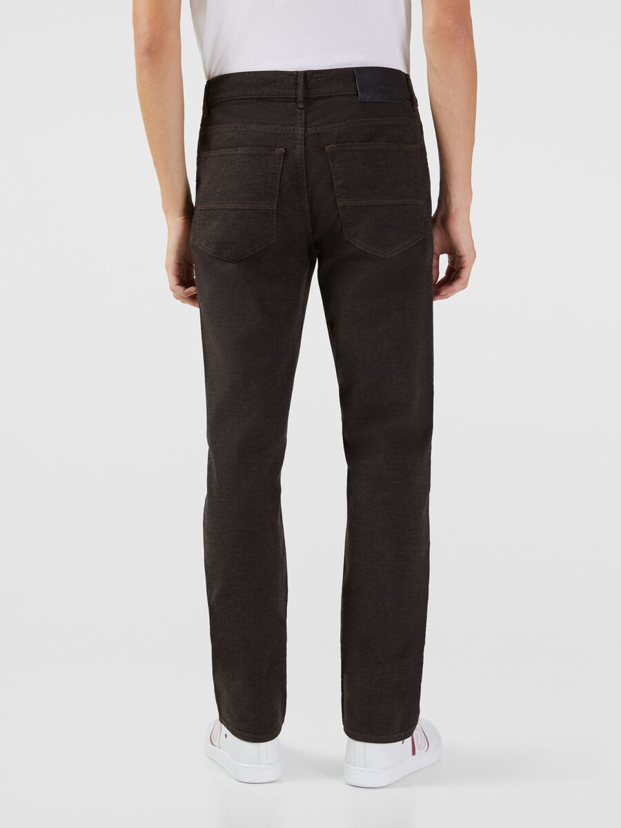 Jeans 380 Icon in gabardina wool-touch