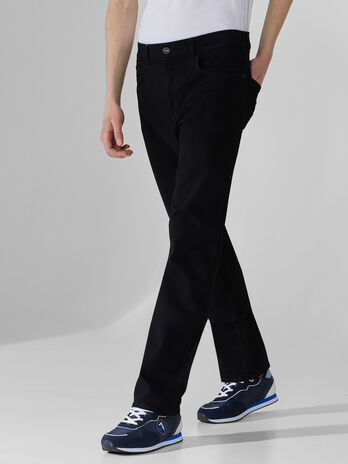 Icon 380 jeans in black denim