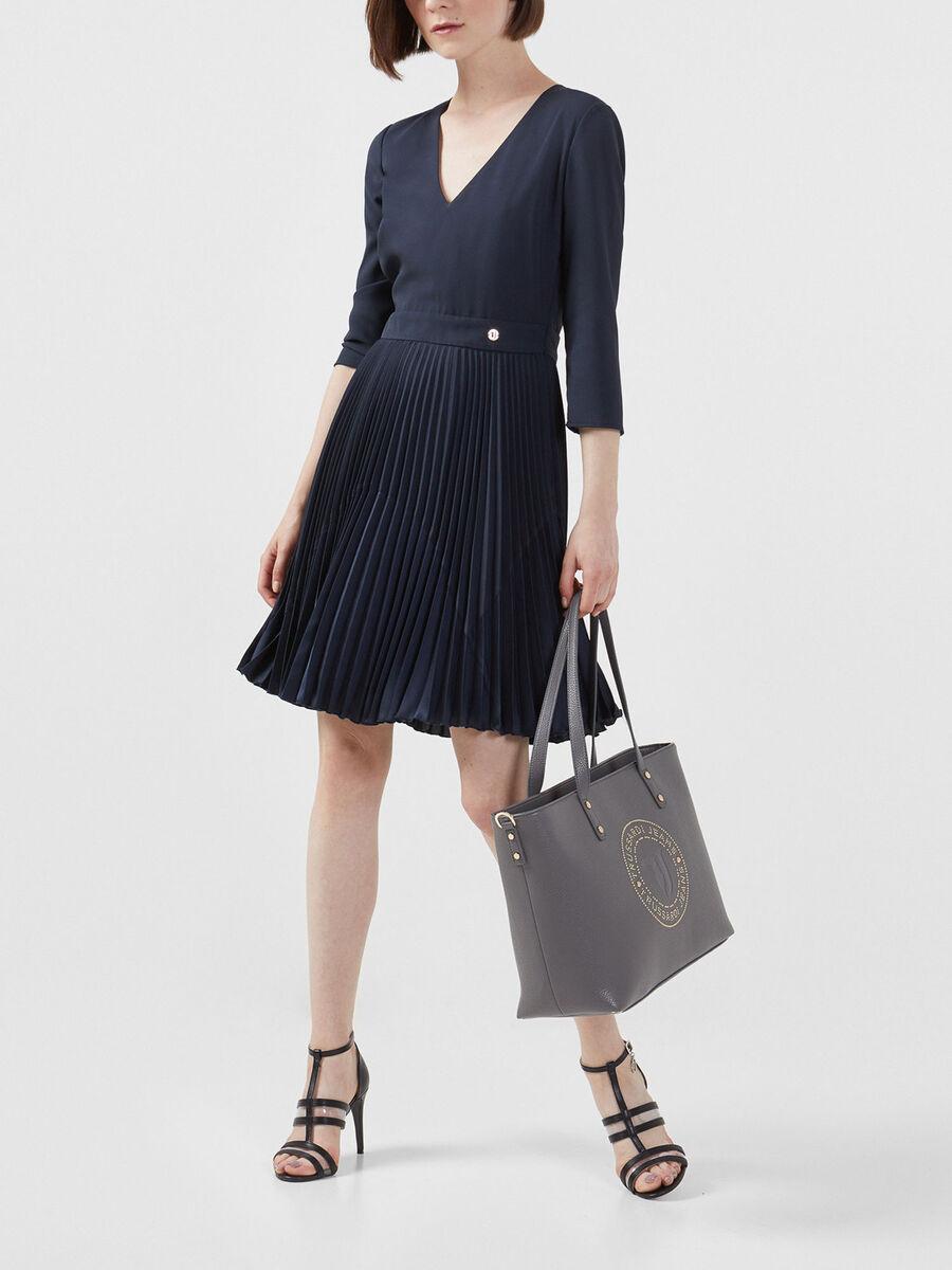 Shopper Harper Large aus Kunstleder mit Nieten
