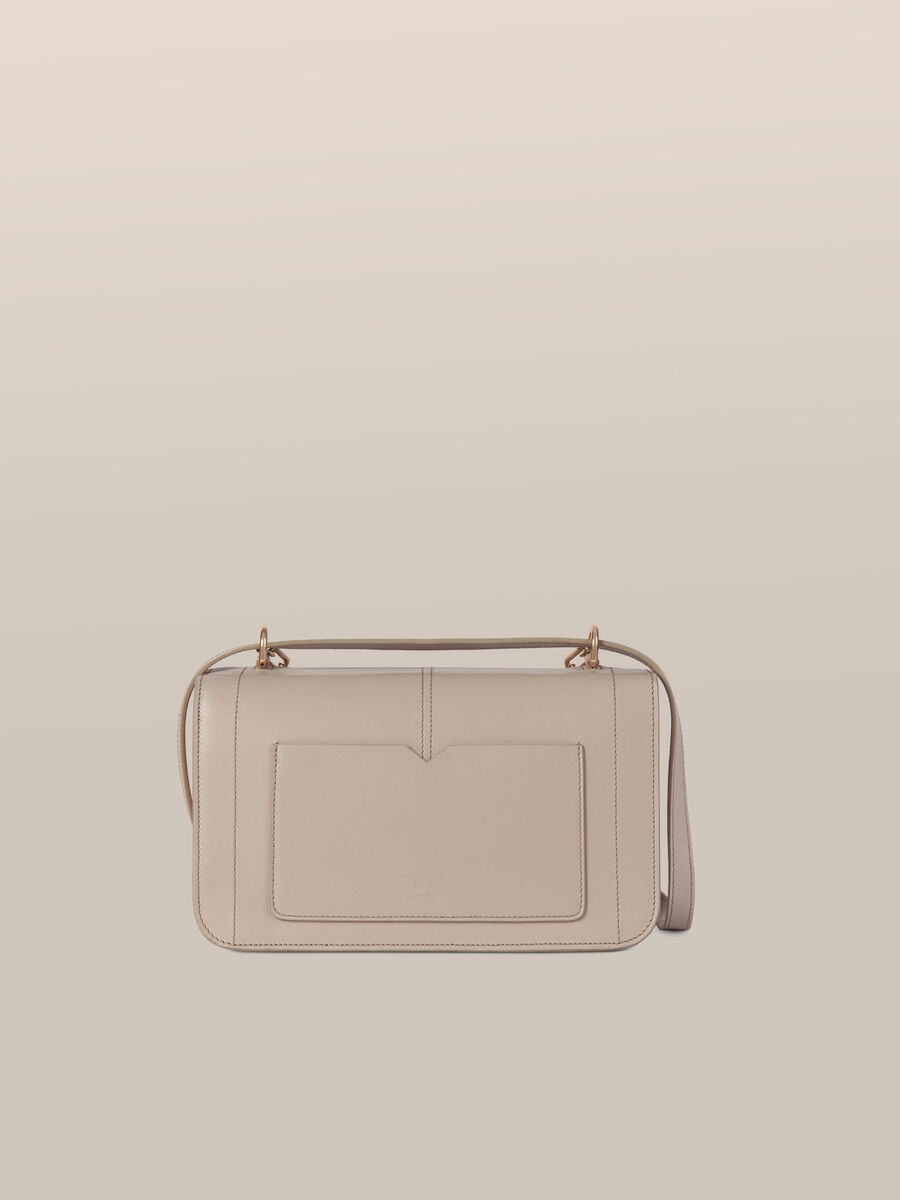 Medium Ottavia crossbody bag in abraded leather