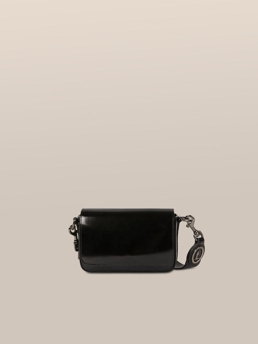 Umhaengetasche Bianca Small aus Abrasivato Leder