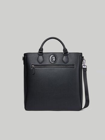 Shopping bag Business medium in similpelle stampa cervo