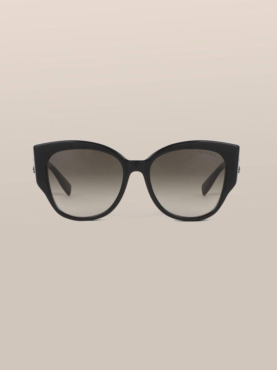 Oversize Sonnenbrille mit Levriero