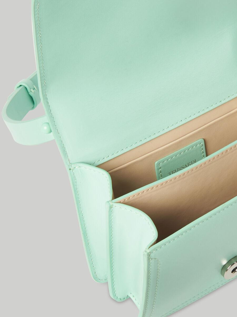 Umhaengetasche Leila Mini aus einfarbigem Leder