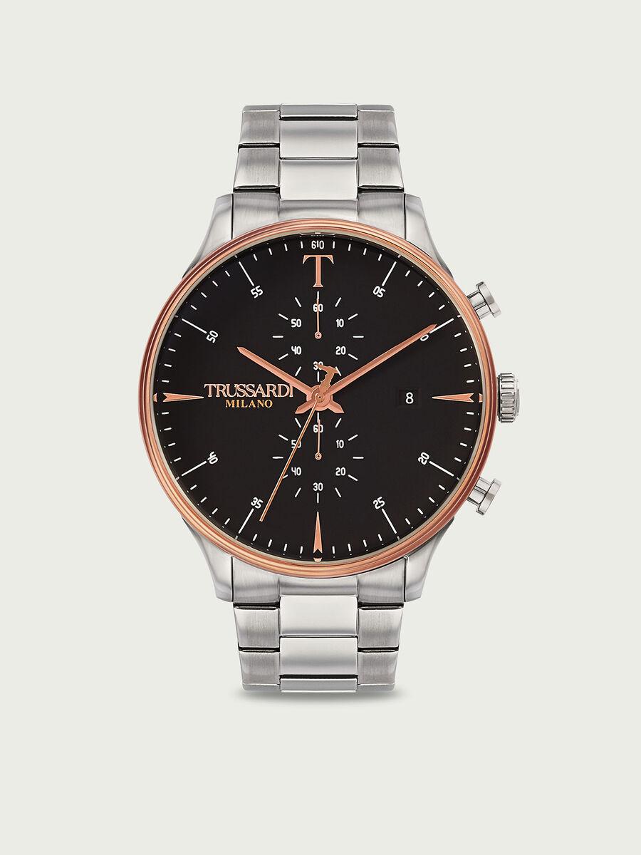 Watch with bracelet strap