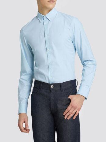 Chemise coupe classique en coton