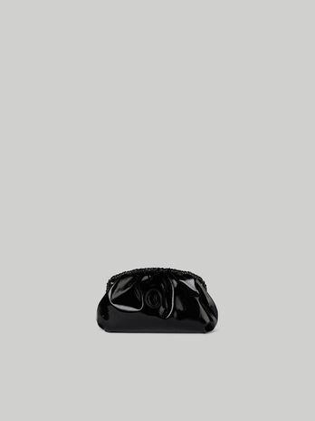 Clutch Thalia small in similpelle metallizzata