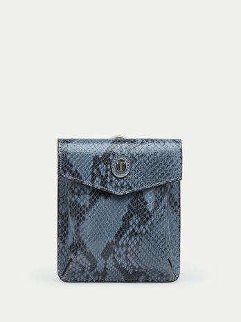 Python print Crespo leather briefcase