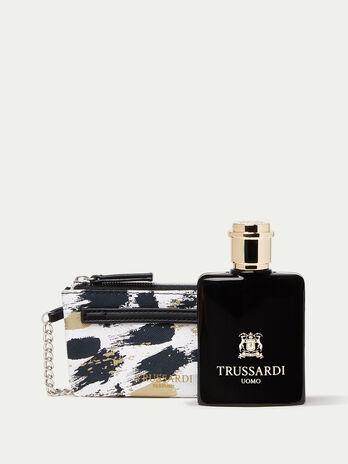 Trussardi Uomo Perfume and Keyring Set