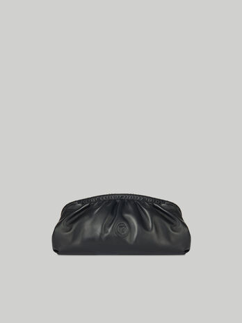 Clutch T79 maxi in nappa monocolore