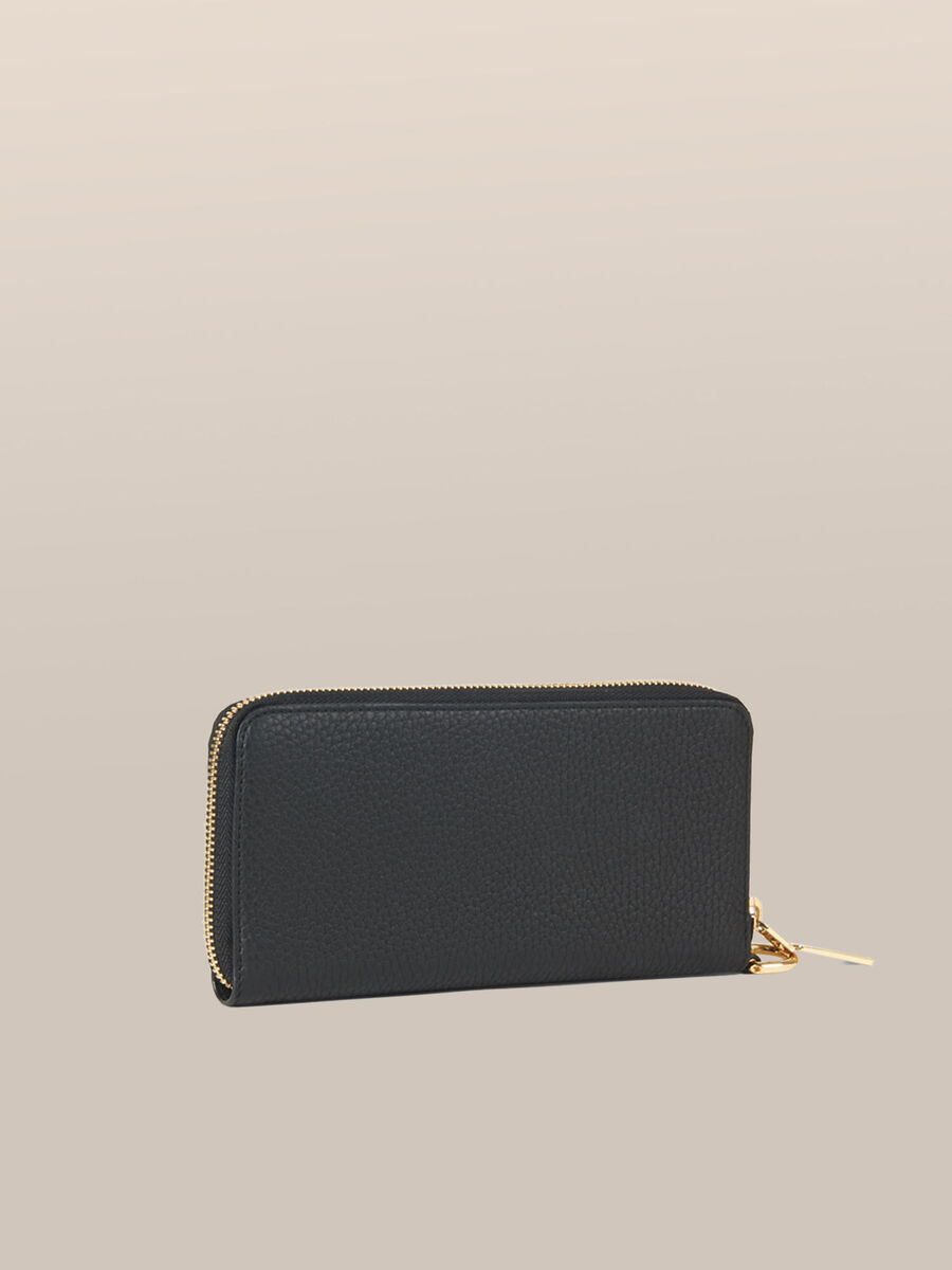 Leather Olivia phone purse with zip