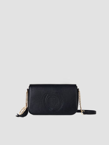 Cross-body small Faith in similpelle martellata