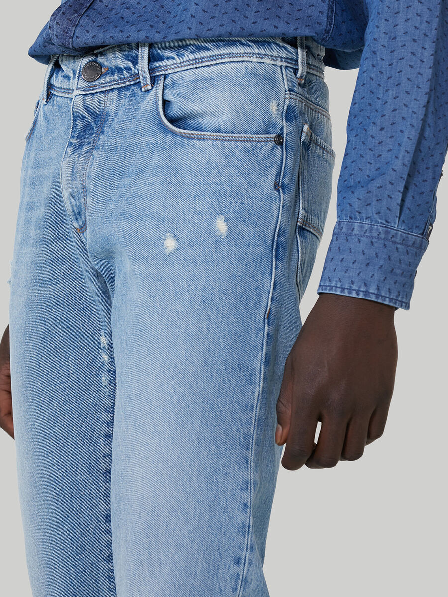 Denim Close 370 jeans with rips