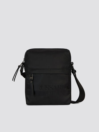Small Turati reporter bag in nylon and Cordura