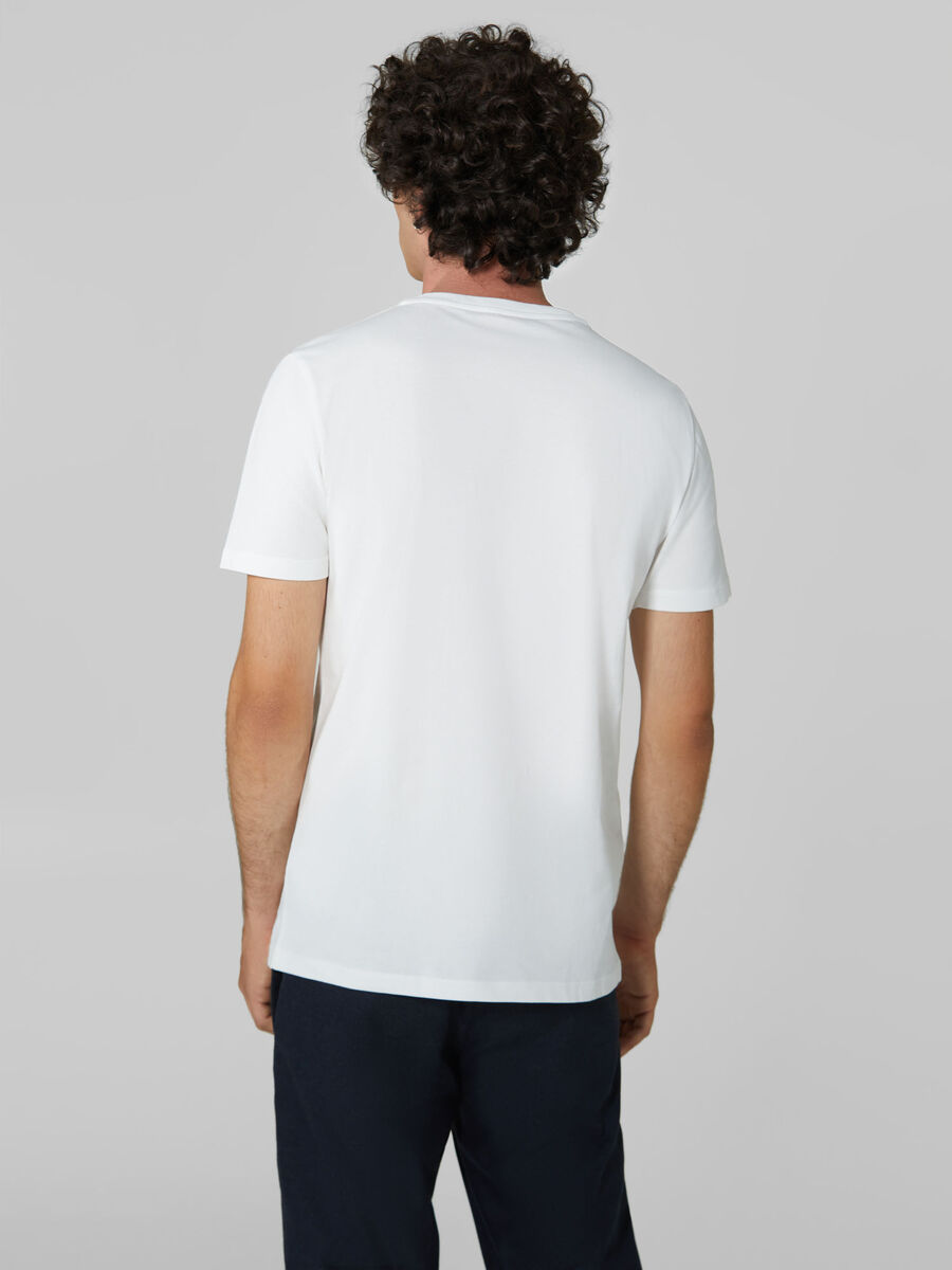 Regular-fit jersey T-shirt with bold logo
