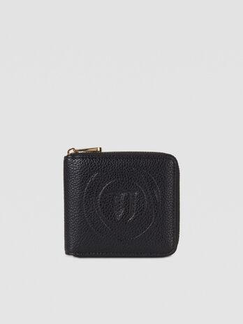 Medium Faith purse in faux leather with logo
