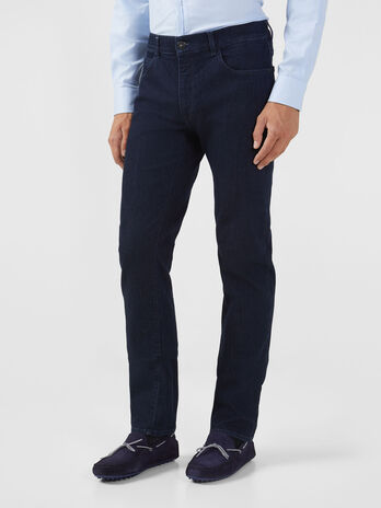 Icon 380 jeans in dark blue denim