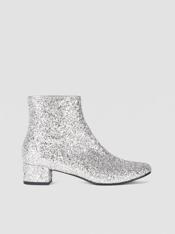 Glittery T-Easy Diamond ankle boots