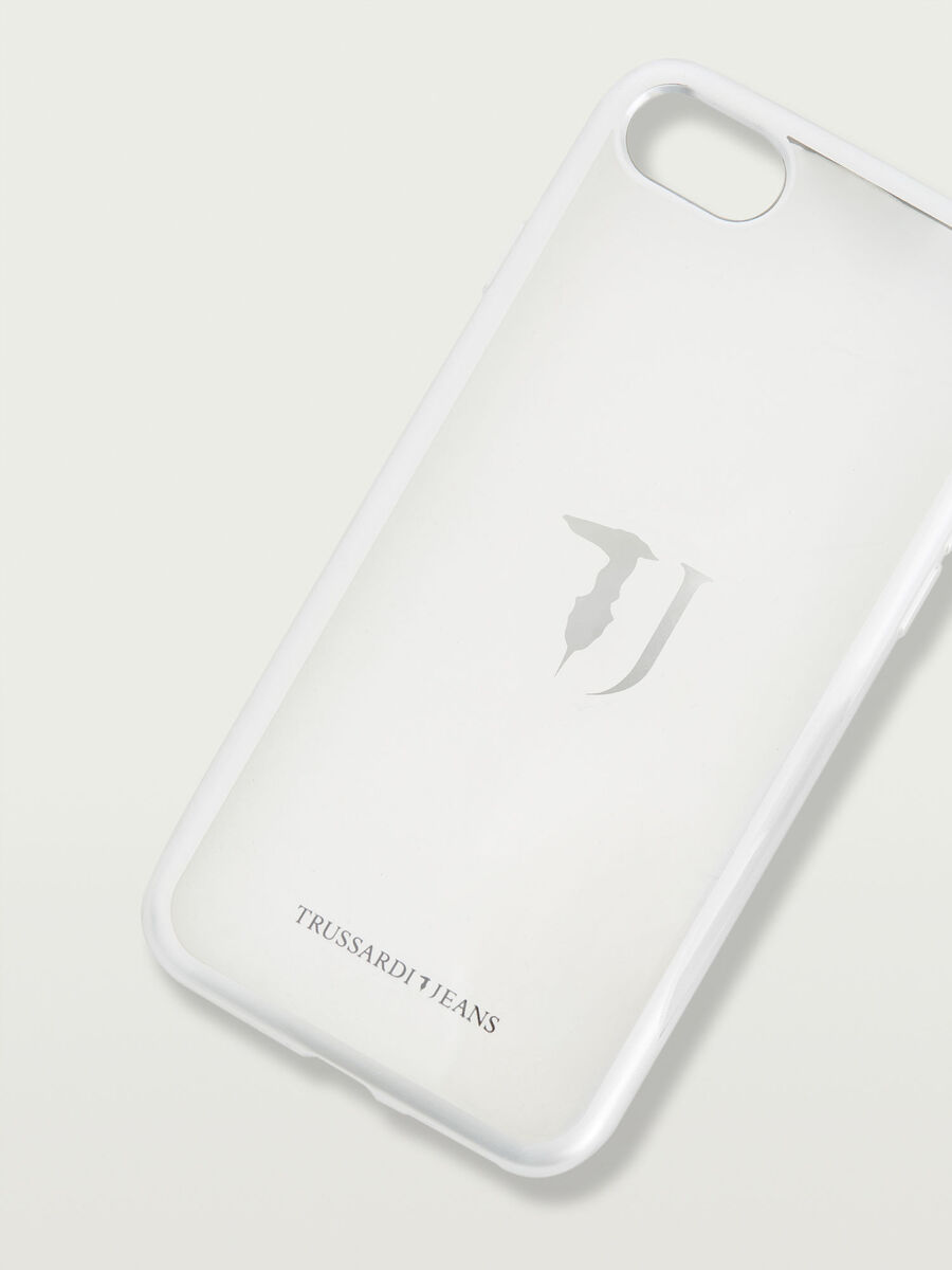 iPhone 7 soft case with logo and trim