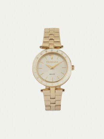 Reloj T-Shiny 34MM con pulsera de acero