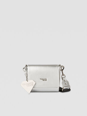 Small T-Easy Diamond Cacciatora bag in faux leather