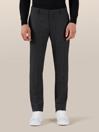 Pantalon en flanelle de laine