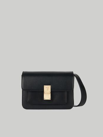 Medium Lione crossbody bag in faux leather