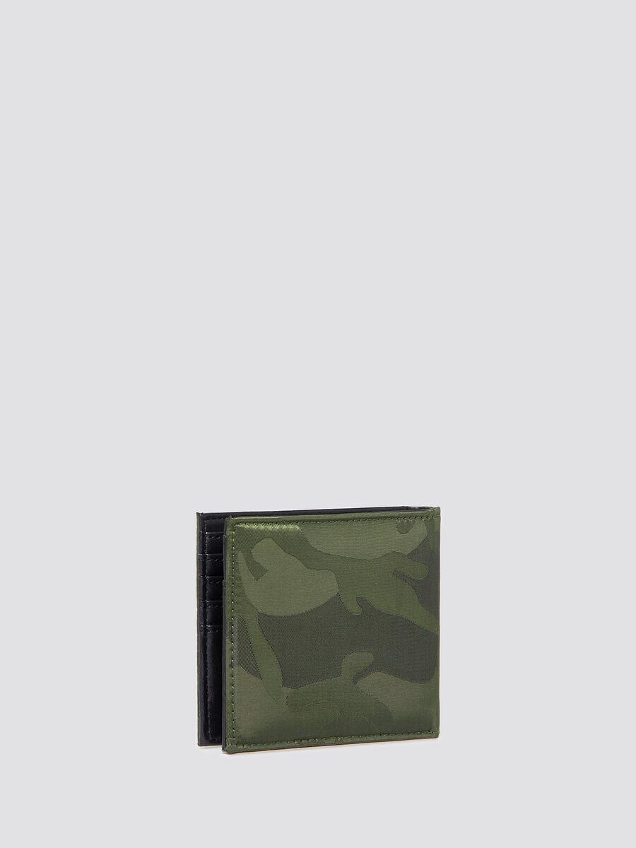Portafoglio Ticinese camouflage con portamonete