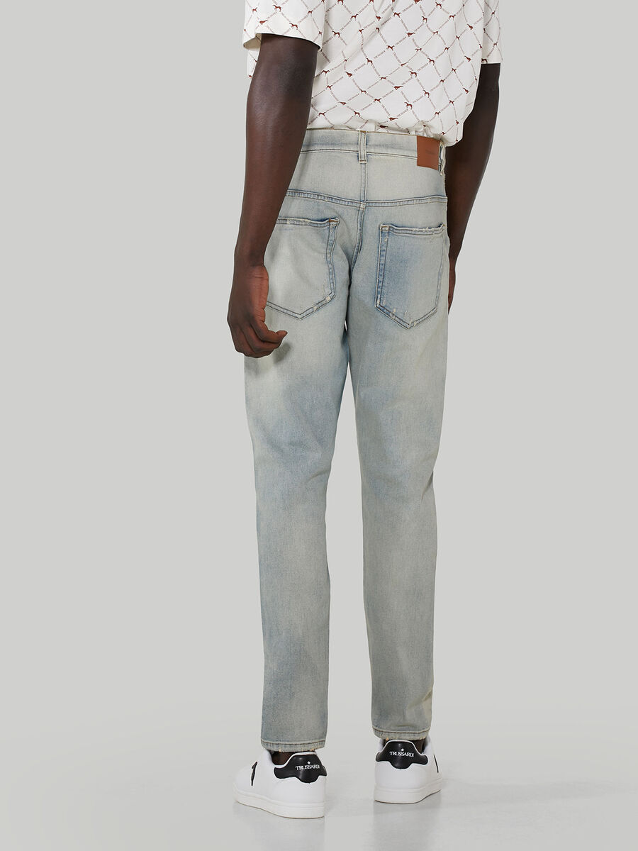 Skinny vintage denim jeans