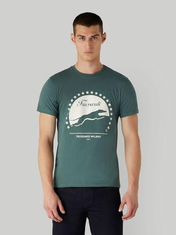 T-Shirt im Regular-Fit aus Baumwolle mit Print
