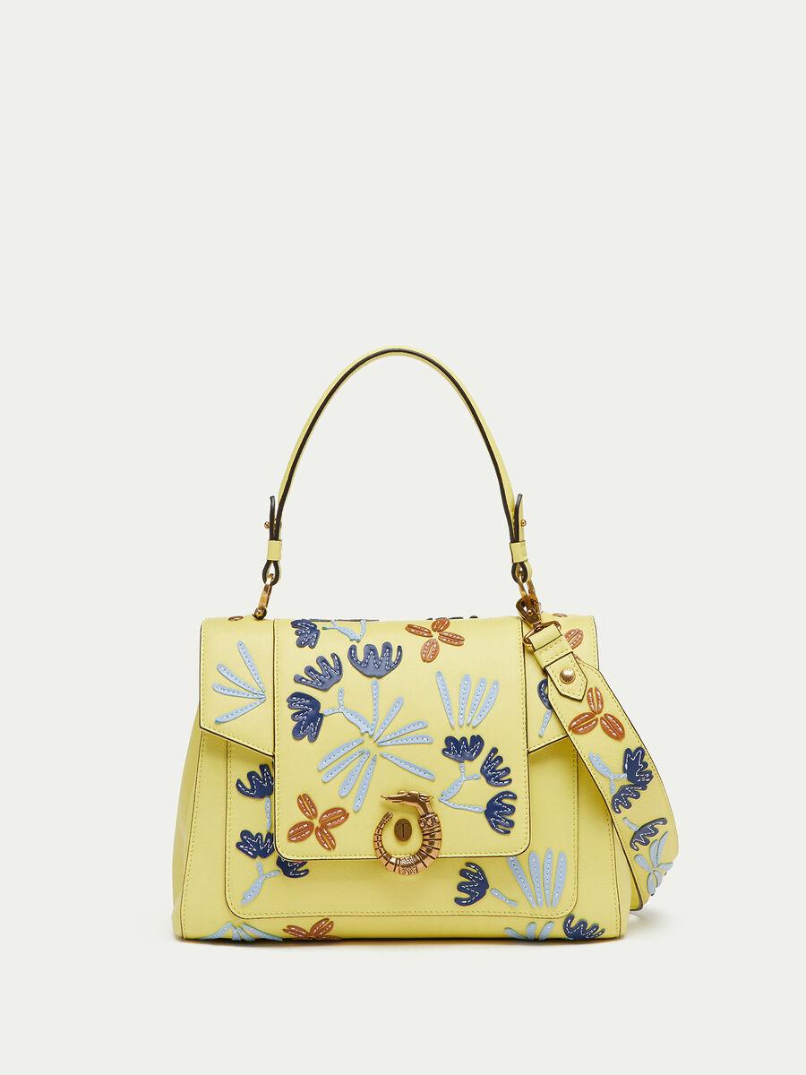 Lovy Bag regular de piel de becerro Velvet