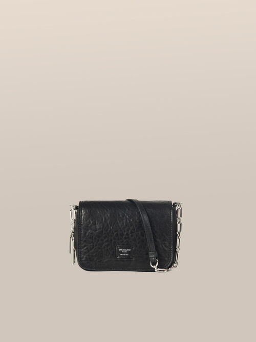 Small Biker Cacciatora bag in lux sheepskin