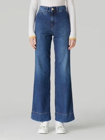 Pique denim Palace jeans