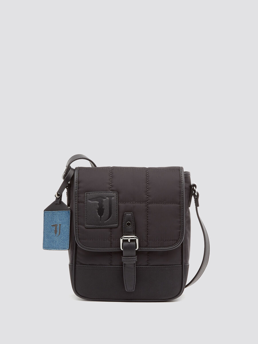 Solid colour Ticinese reporter bag