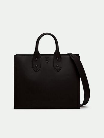 Medium Ping Bag In Leather