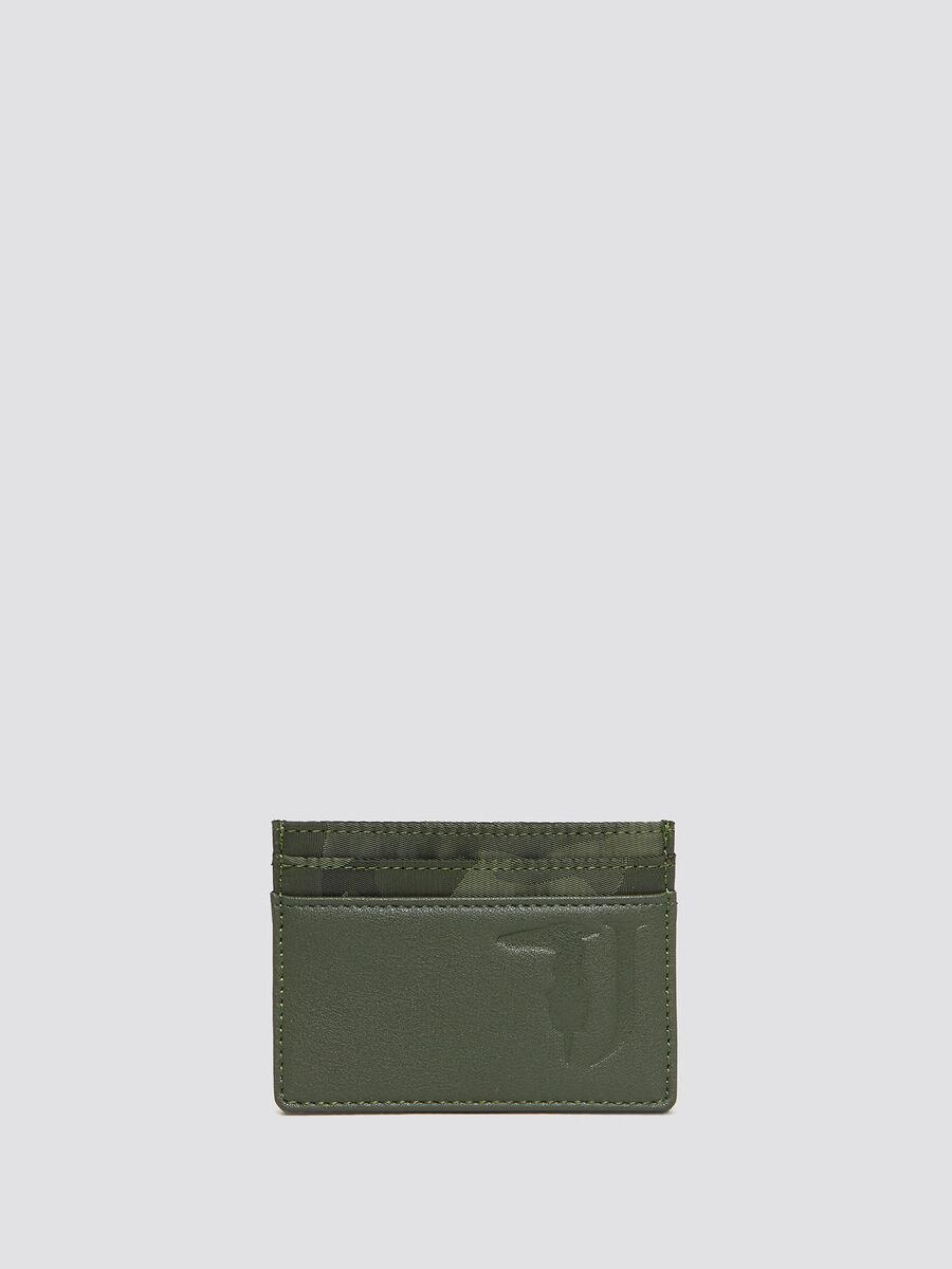 Portatessere Ticinese in nylon camouflage