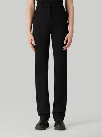 Pantalon de punto compacto
