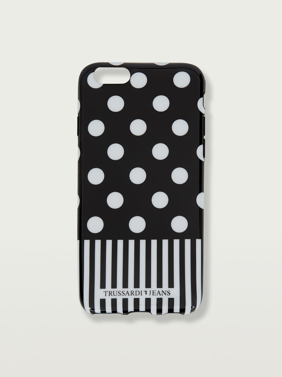 Funda iPhone 6/6s suave punteada
