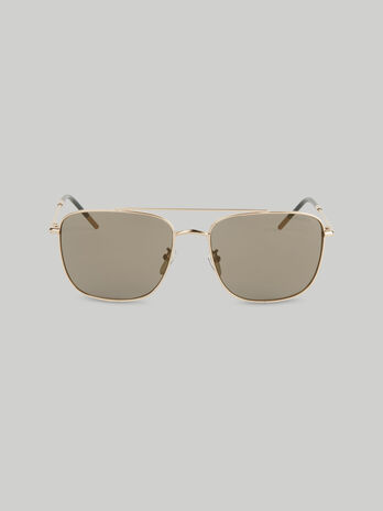 Gafas de sol aviador de metal