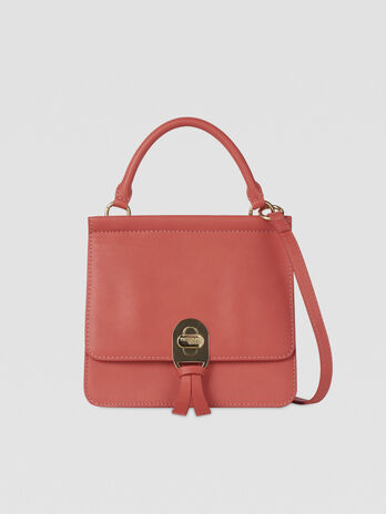 Mya crossbody bag in smooth faux leather