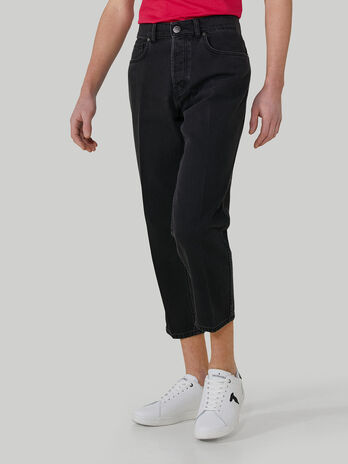 Cotton denim Taper 360 jeans
